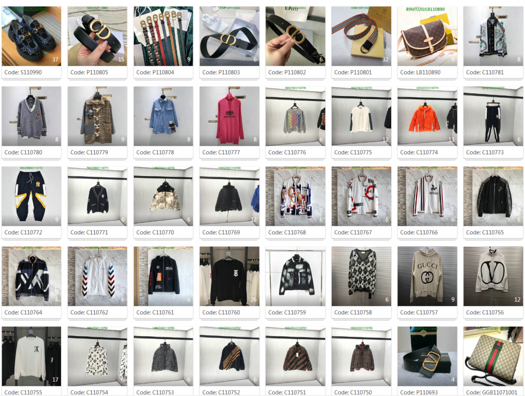We updated some very popular items Luxury brand
